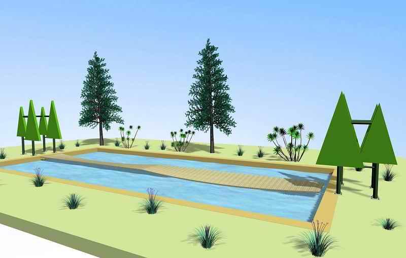 水上拓展设备s桥-水上拓展器材-武汉奥特拓展运动